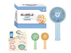 B/O Fan Bubble Machine toys