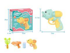B/O Bubble Gun Set W/L_M(2C) toys