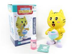 B/O Dancing Bubble Tiger toys
