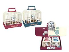 S/C Pet Dog Set W/L_S(6in1) toys
