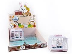 S/C Rabbit Cage W/L(6in1) toys