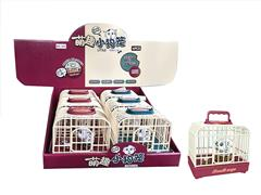 S/C Dog Cage W/L_S(6in1) toys