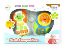 Musical Instrument Set W/M(2in10