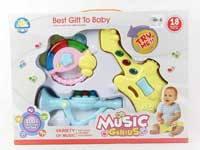 Musical Instrument Set W/M(3in1)
