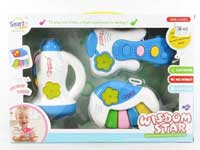 Musical Instrument Set W/M(3in10