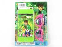 Mobile Telephone W/M & Glasses