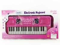37Key Electronic Organ W/Microphone