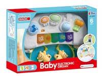 婴儿围栏吊琴带灯光音乐