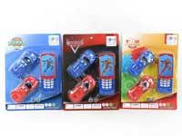 Mobile Telephone & Free Wheel Car(3S)