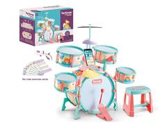 Jazz Drum Set W/L_M toys