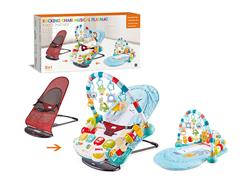 3in1 Rocking Chair Musical Playmat toys