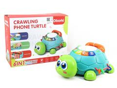 Creeping Induction Telephone Turtle W/S_M toys