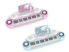 37Key Electronic Organ W/Microphone(2C) toys
