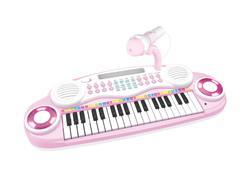 37Key Electronic Organ W/Microphone(3C) toys