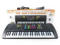 49Key Electronic Organ W/Microphone