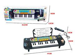 25Key Electrical Piano W/Microphone toys