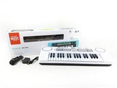 37Key Electronic Organ W/Microphone toys