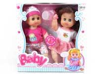 12inch Doll Set W/IC(2in1)