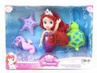 6inch Mermaid Set W/L
