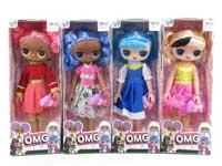 14inch Doll Set W/M(4S)