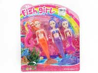 Mermaid Set W/L(3in1)