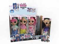 9inch Doll W/M(12in1)
