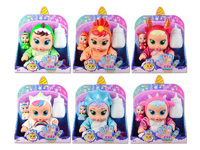 9inch Doll Set W/IC_S(6S) toys