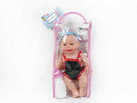 10inch Brow Moppet Set W/IC toys