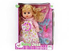 16inch Moppet Set W/IC toys