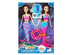 12inch Mermaid Set W/L(2in1)