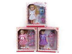 14inch Doll Set W/IC(3S) toys