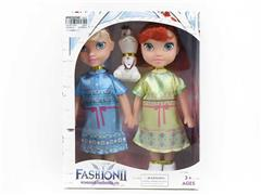 9inch Doll Set W/M(2in1) toys