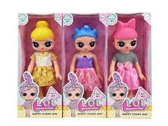 16inch Doll W/L_M(3S) toys
