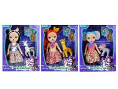 12inch Doll Set W/L_M(3S) toys