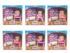10inch Doll Set W/S_M(6S) toys