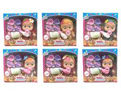 14inch Doll Set W/S_M(6S) toys
