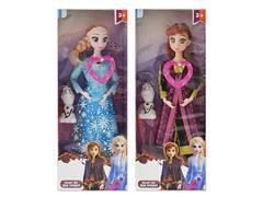 11inch Doll Set W/M(2S) toys