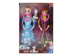 11inch Doll Set W/M(2in1) toys