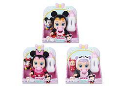 9inch Doll Set W/L_S(3S) toys
