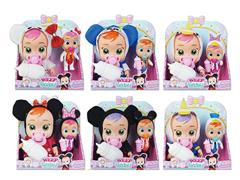 9inch Doll Set W/L_S(2in1) toys