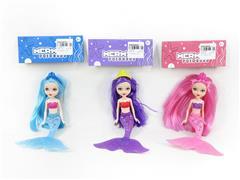 8inch Mermaid W/L(3S) toys