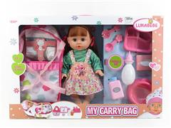 14inch Moppet Set W/IC toys