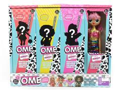 11inch Doll Set W/L_M(4in1) toys
