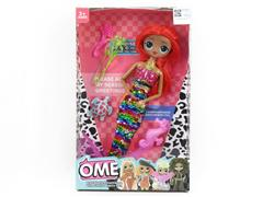 11inch Doll Set W/L(4S) toys