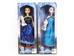 11inch Doll Set W/L_M(2S) toys