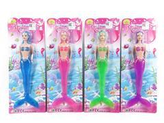11.5inch Mermaid W/L(4C) toys