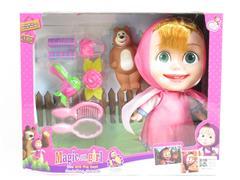 12inch Solid Body Doll Set W/L_M toys