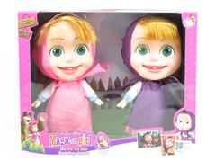 12inch Solid Body Doll W/L_M(2in1) toys