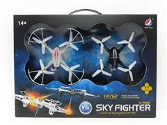 R/C 4Axis Drone(2in1) toys