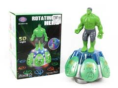 B/O The Incredible Hulk W/L_M toys